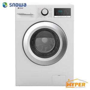 ماشین لباسشویی اسنوا SWM-71201 سفید درب کروم