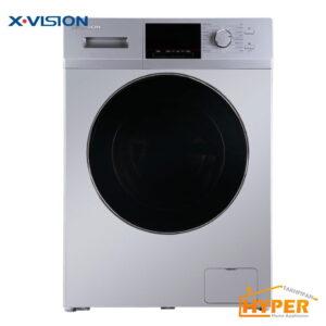 ماشین لباسشویی ایکس ویژن TM94 ASBL نقره ای