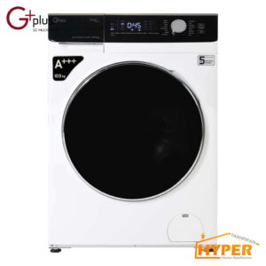 ماشین لباسشویی جی پلاس GWM-K1048W سفید 10.5 کیلویی