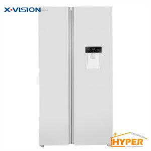 یخچال فریزر ساید بای ساید ایکس ویژن TS550 AWD