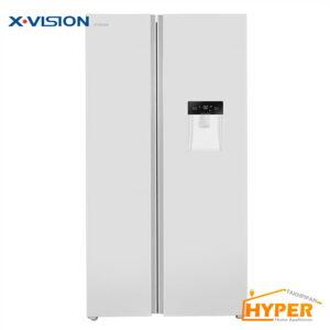 یخچال فریزر ساید بای ساید ایکس ویژن TS665 AWD